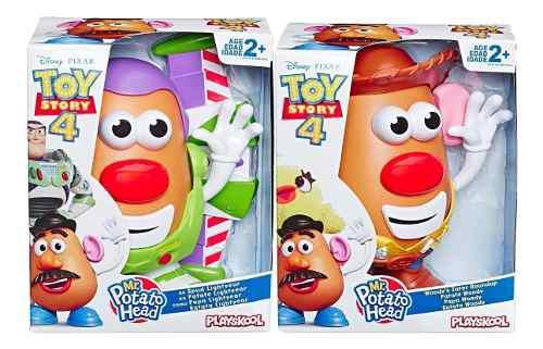 Señor Cara De Papa Paquete Toy Story 4 Woody Y Buzz