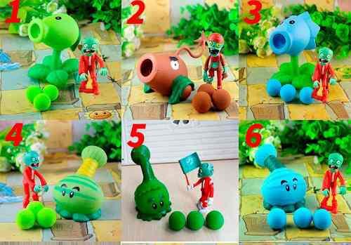 Set 1 Plantas Vs Zombies + Envió Gratis