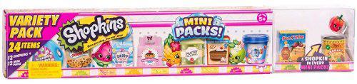 Shopkins Super Pack Mini Packs 24 Piezas Miniatura