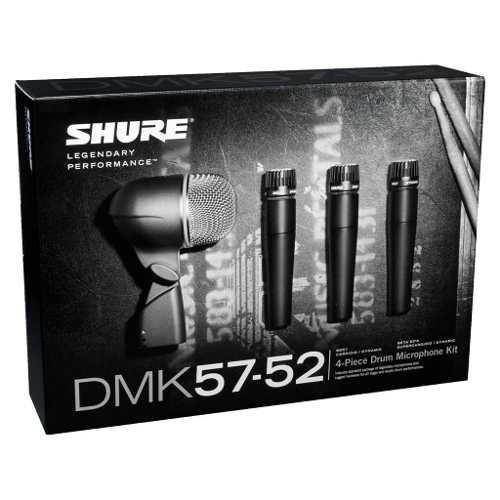 Shure Dmk57-52 Juego De Micrófonos Para Batería