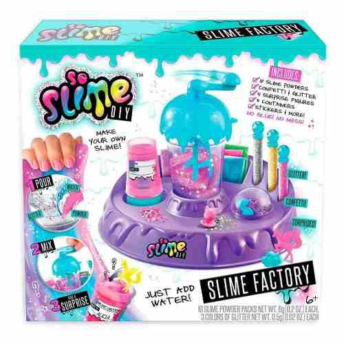So Slime }diy Fábrica De Slime Raimbow Factory