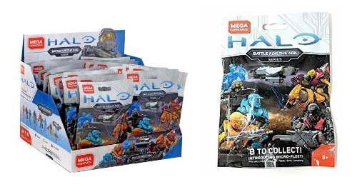 Sobres De Halo Megaconstrux Con 1 Figura Nuevos Sellados C/u
