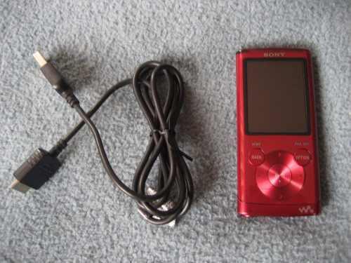 Sony Walkman Reproductor Mp3 Y Mp4 De 4gb !!!!!!!!!!!!