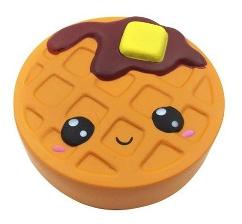 Squishy Kawaii Jumbo Aromático: Waffle