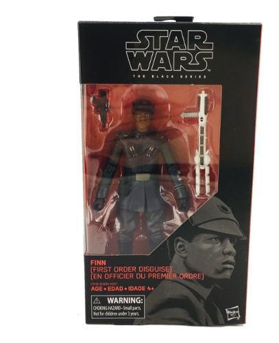 Star Wars Finn Primera Orden 18 Cm Black Series Hasbro