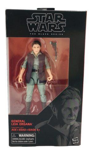 Star Wars Leia Organa General 18 Cm Black Series Hasbro