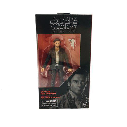 Star Wars Poe Dameron Captain 18 Cm Black Series Hasbro