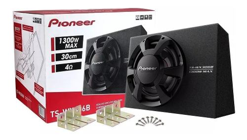 Subwoofer Con Cajón Pioneer Ts-wx306b w 350w Rms 12