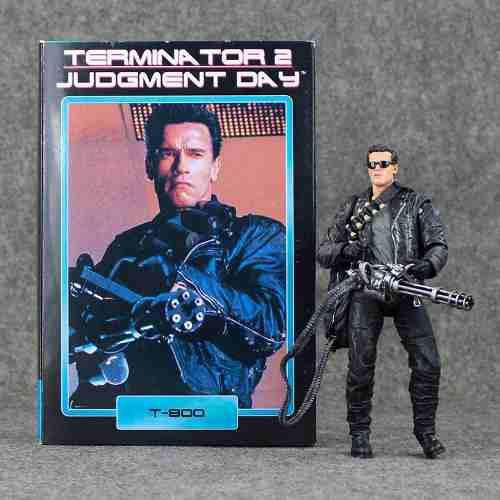 Terminator 2. T-800. 17 Cms. Neca. Figura De Accion. 3.