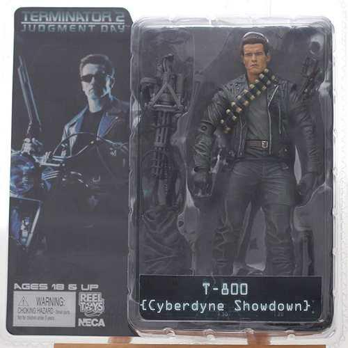 Terminator 2. T-800. 18 Cms. Neca. Figura De Accion. 2.