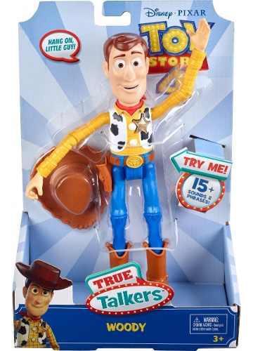 Toy Story 4 True Talkers Figura Woody Frases Y Sonidos, 2019