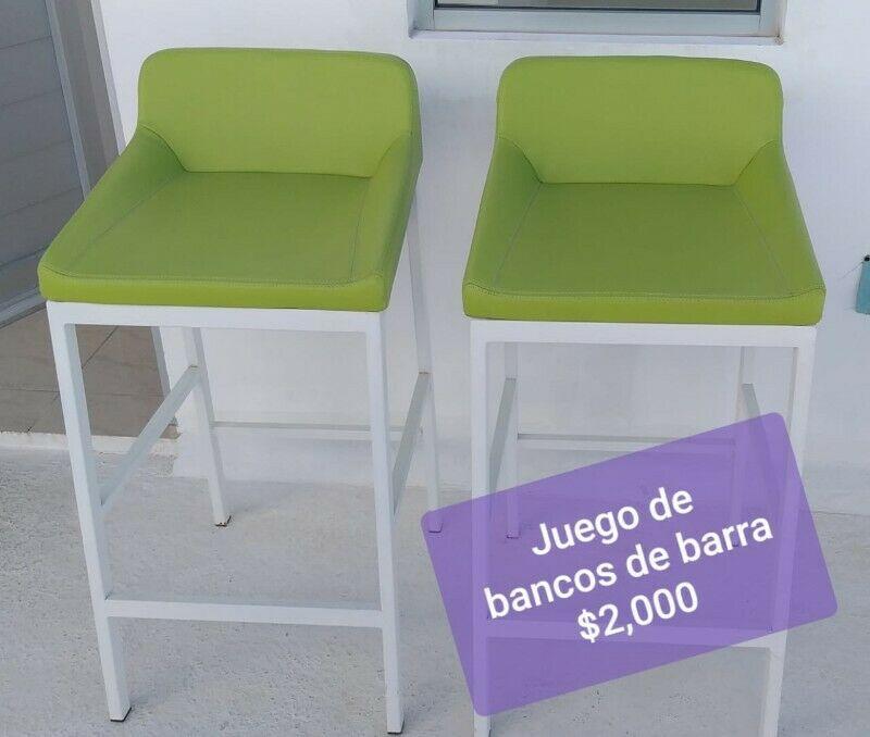 BANCOS DE BARRA DE COCINA