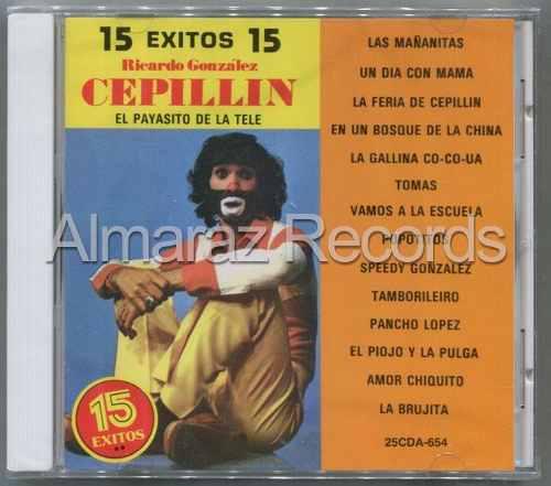 Cepillin 15 Exitos 15 Cd