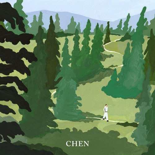 Chen Flower Mini Album Solista Exo April Aleatorio