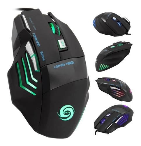 Gaming Mouse Gamer Led 6 Botones  Dpi Gratis Envio