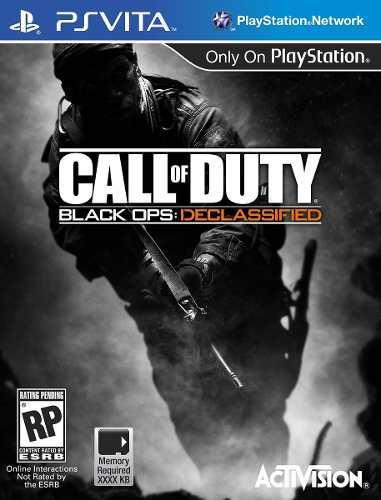 Juego Call Of Duty Black Ops Declassified Playstation Vita