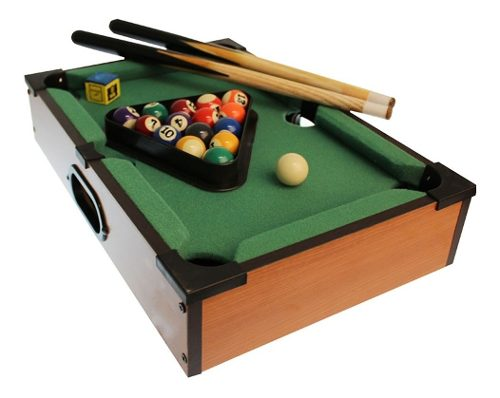 Juego Infantil Mesa De Billar Mini Pool Table Para Niños