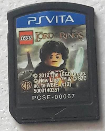 Juego: Lego El Señor De Los Anillos Para: Psvita