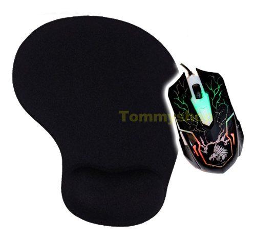 Kit Gamer Mouse Drakon G16 + Mousepad Tapete De Gel