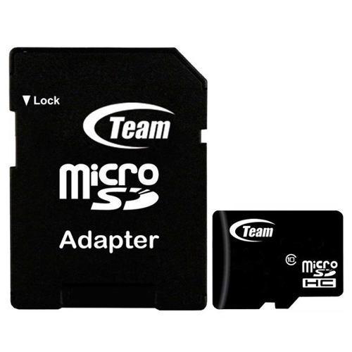 Memoria Micro Sd 16gb Teamgroup Clase 10 Full Hd Celulares