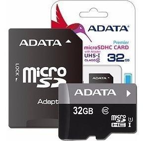 Memoria Micro Sd 32gb Adata Clase 10 Envio Gratis Ram-2164