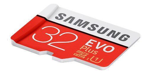 Memoria Micro Sd Samsung Evo Plus 32gb, 95 Mb/s 100% Genuina