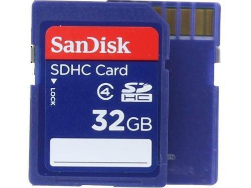 Memoria Micro Sdhc 32gb Sandisk Video 4kfull Hd C1s