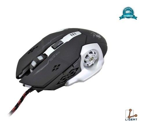 Mouse Gamer Alambrico Usb Optico Retroiluminado Color G-706