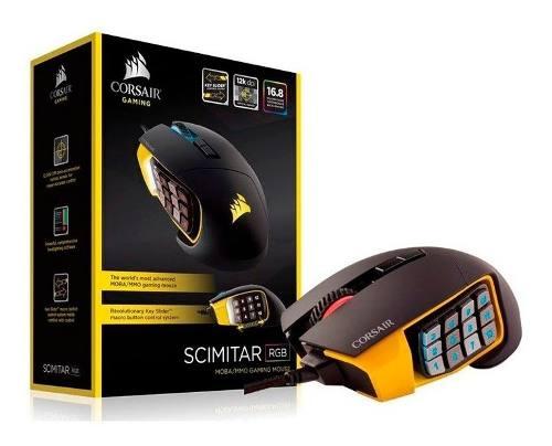 Mouse Gamer Corsair Scimitar Pro Rgb dpi Negro Amari /v