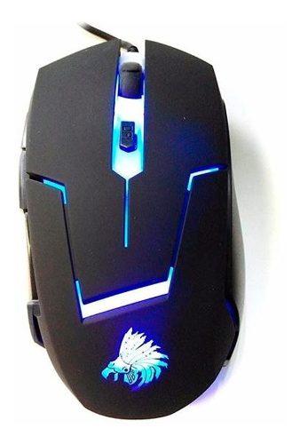 Mouse Gamer Eagle Warrior G13 Retroiluminado Alámbrico