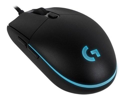 Mouse Gamer Logitech Pro  Dpi Iluminación Rgb Usb.
