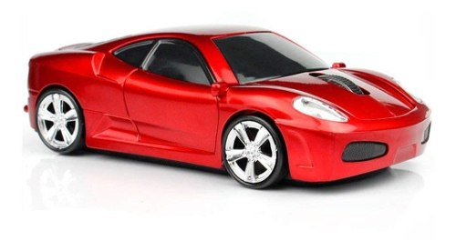 Mouse Gamer Mgbeauty Carro Deportivo dpi Inalámbrico