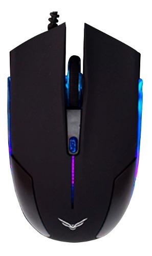 Mouse Gamer Naceb 6 Botones dpi Alambrico Negro Na-198