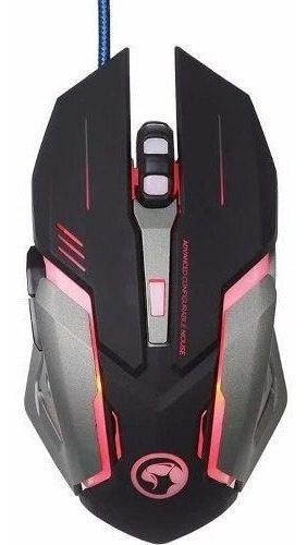 Mouse Marvo M314 Gamer Retroiluminado Led 4 Colores  Dpi