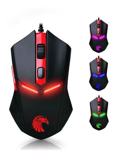 Redlemon Mouse Gamer Óptico  Dpi Universal Led Colores