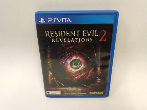 Resident Evil Revelations 2 Psvita Juegazo Super Raro!!!