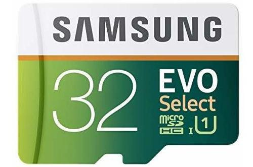 Samsung 32gb 80mb / S Evo Seleccionar Tarjeta De Memoria Mic