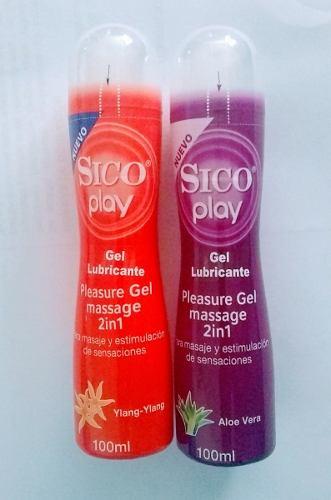 Sico Play 2 Piezas 100 Ml+ M Force 2 Piezas De 10 Ml
