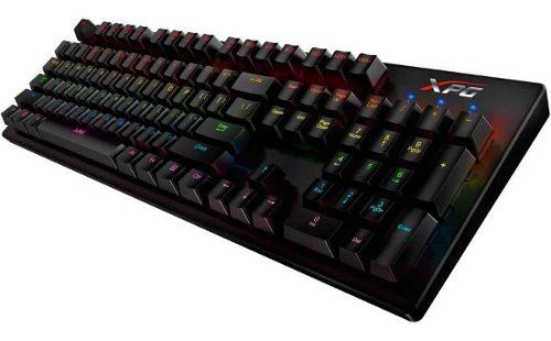 Teclado Gamer Mecanico Xpg Infarex K20 Rgb Switch Blue Usb