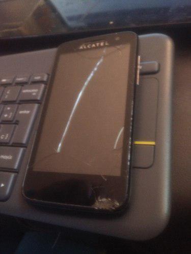 Telefono Alcatel M Pop 5020 Con Detalle