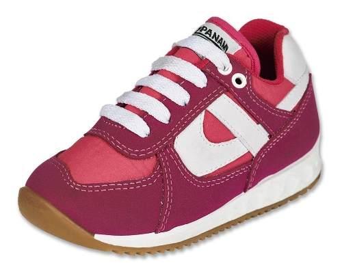 Calzado Kids Niña Tenis Moda Casual Panam 084 Tipo Gamuza