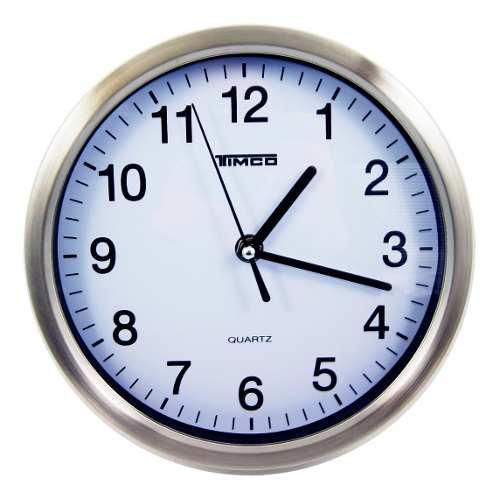Reloj De Pared Acero Inoxidable Ra-12