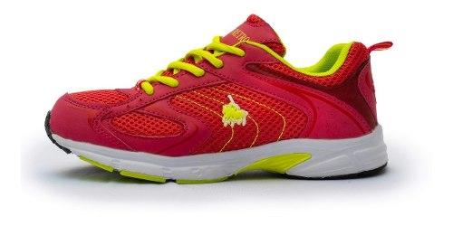 Tenis Para Correr Polo Retro Mujer Neon Fitness Envío