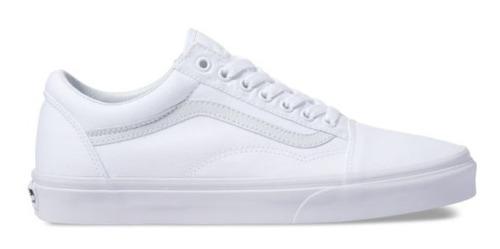 Tenis Vans Old Skool Blanco 100% Originales