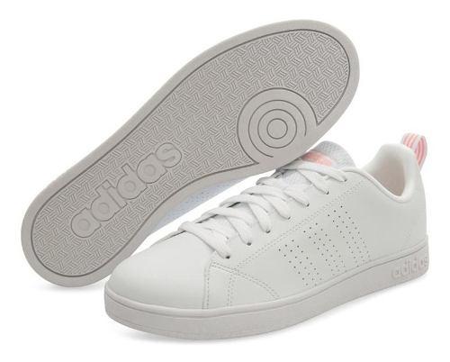 Tenis adidas Advantage Cl Blanco Para Mujer Pr-