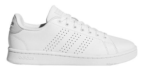 Tenis adidas Blanco Advantage Casual Clasico Originales
