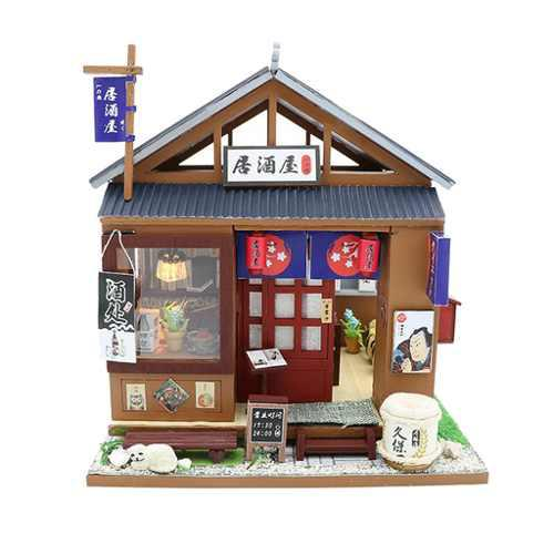 1:24 Casa De Muñecas En Miniatura Con Muebles, Estilo