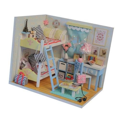 1:24 Casa De Muñecas En Miniatura Diy Casa De Muñecas