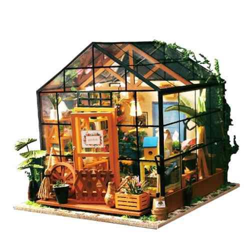 1:24 Casa De Muñecas En Miniatura Diy Prince Casa De