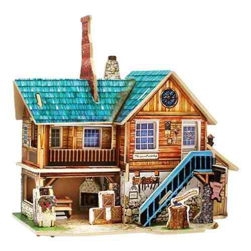 1:24 Diy Muñecas Miniatura Kit De Muebles De Casa Para